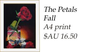 The petals fall